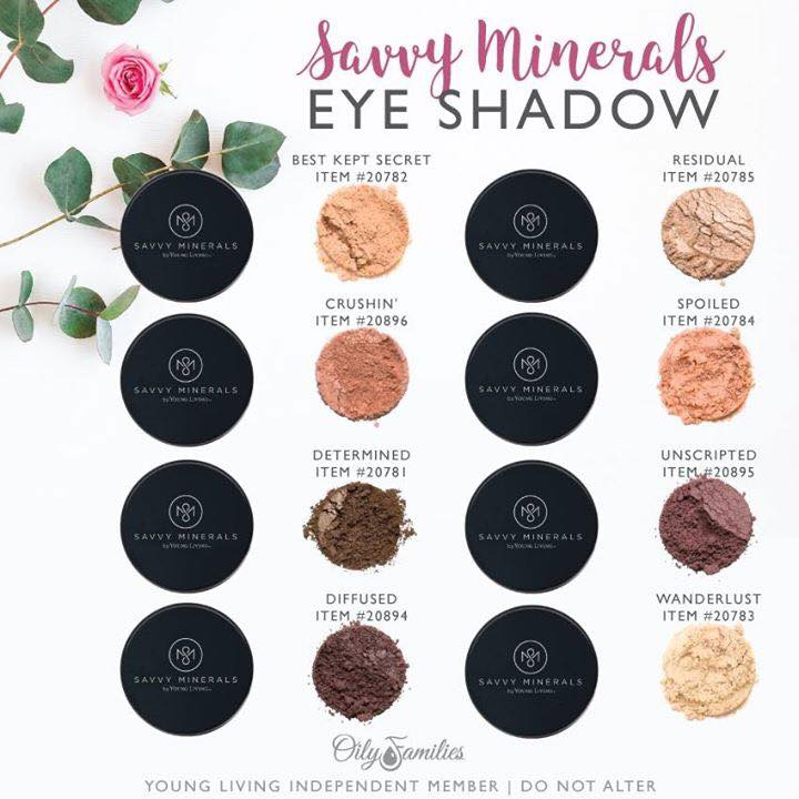 Savvy Minerals Makeup By Young Living Whole Life Oils